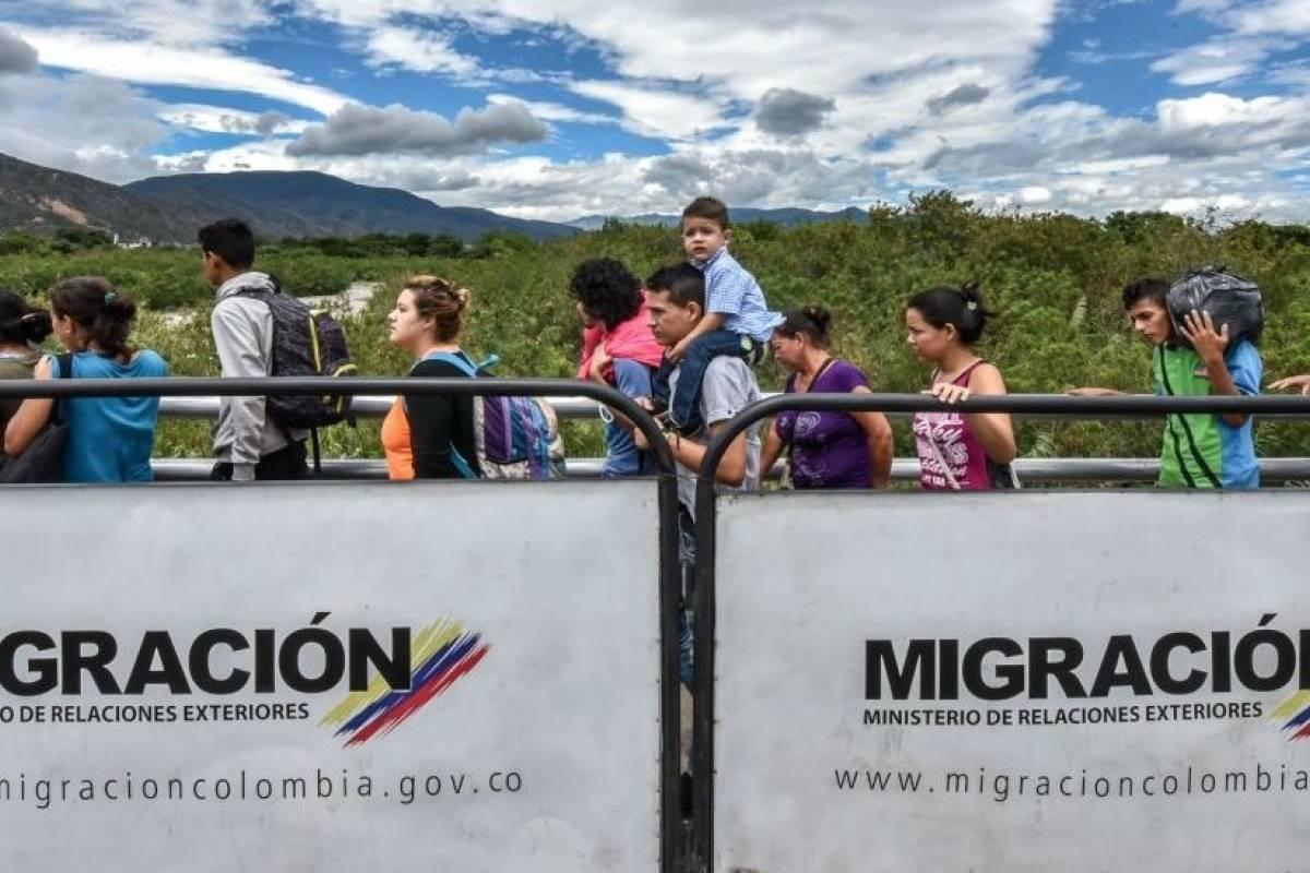 Colombia cancela movilidad fronteriza a venezolanos que apoyen a Maduro
