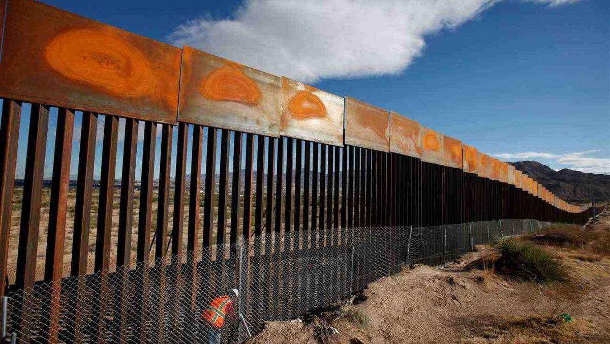 Aprueban 1.375 millones de dólares para el muro fronterizo entre Estados Unidos y México