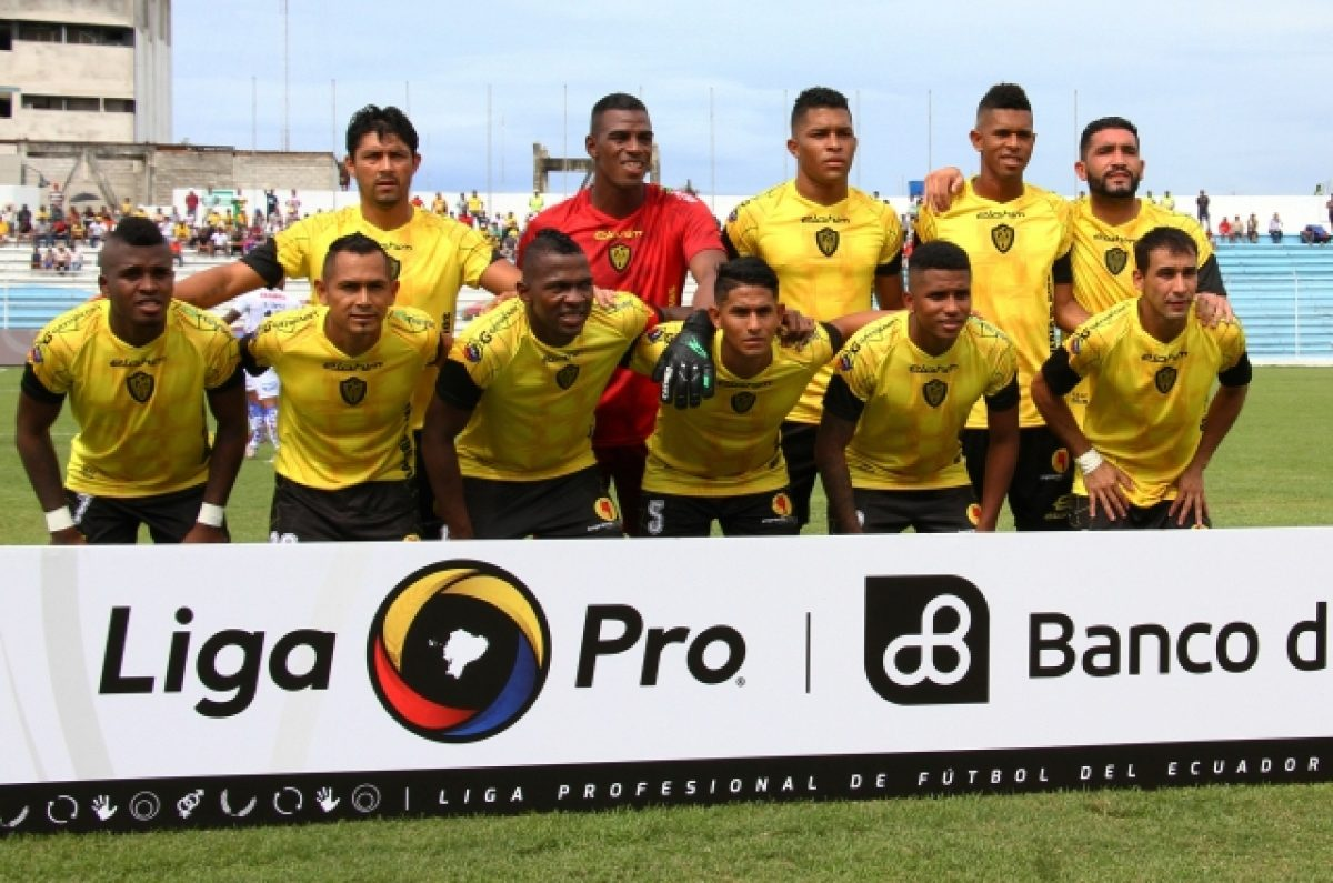 Fuerza Amarilla, primer descendido a la Serie B del fútbol ecuatoriano