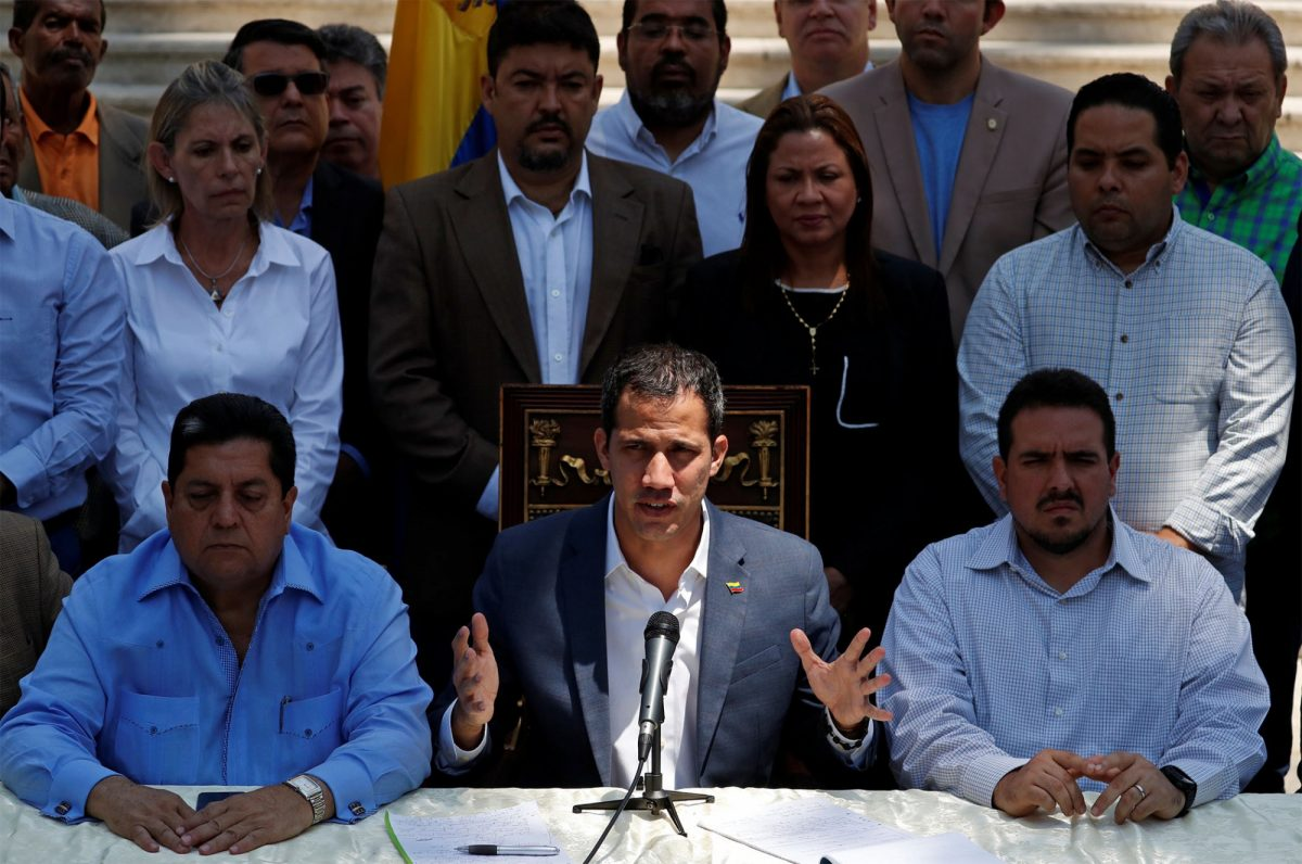 "Venezuela | Juan Guaidó pide a Asamblea Nacional que se declare el ""estado de emergencia"""