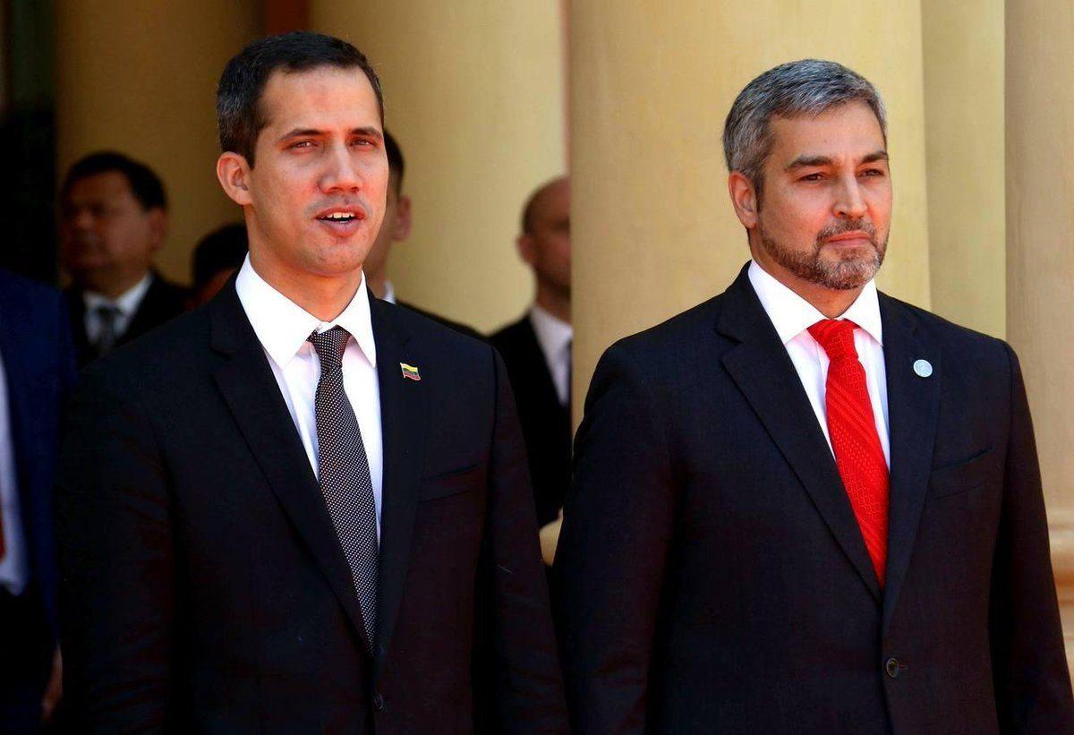 VIDEO: Así fue recibido Juan Guaidó en Paraguay