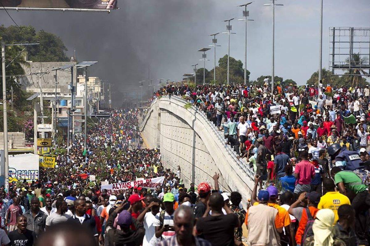 Haití: Al menos 2 muertos y 5 heridos en manifestaciones contra el presidente Jovenel Moïse