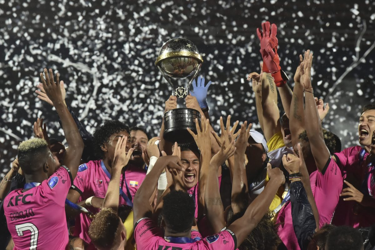 Así fue recibido Independiente del Valle, el campeón de la Copa Sudamericana