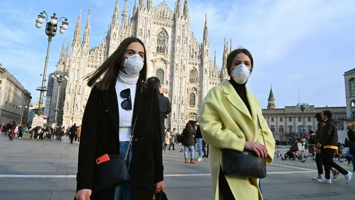Crisis por Coronavirus: 7 fallecidos y supermercados vacíos en Italia