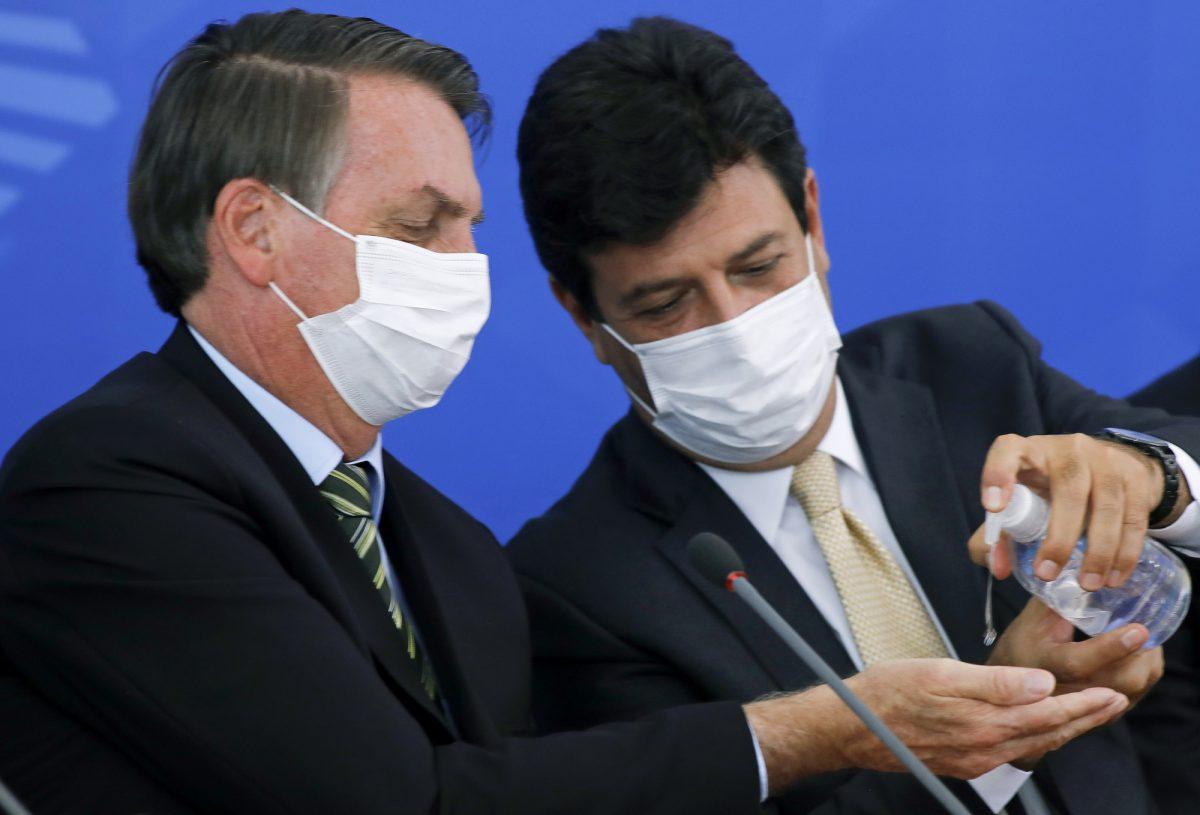 Presidente Bolsonaro quiere que cuarentena en Brasil termine esta semana