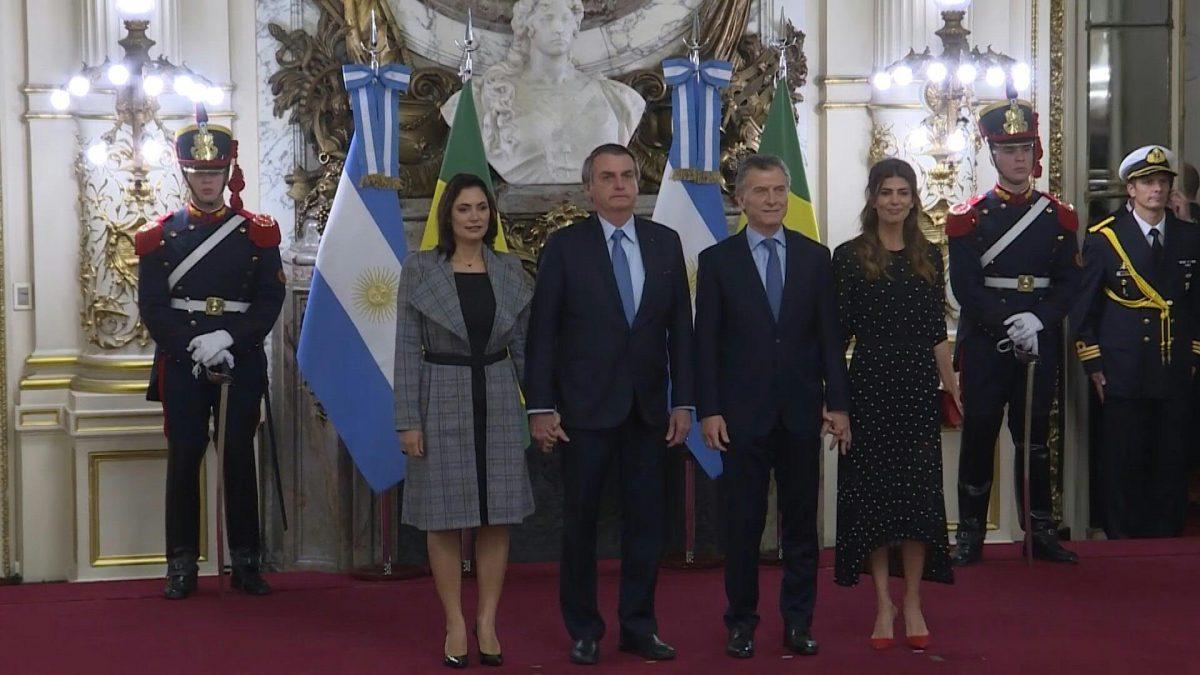 VIDEO | Presidentes Bolsonaro y Macri confían en un acuerdo entre Mercosur y la Unión Europea