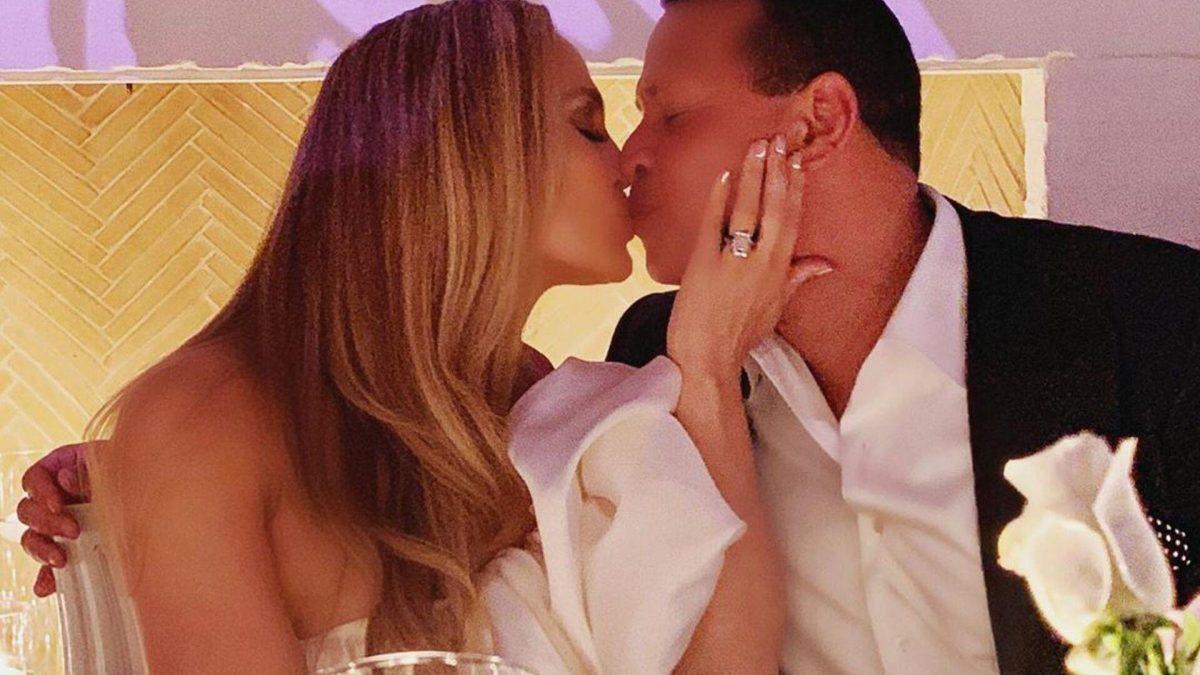 La fiesta de compromiso de Jennifer López y Alex Rodriguez
