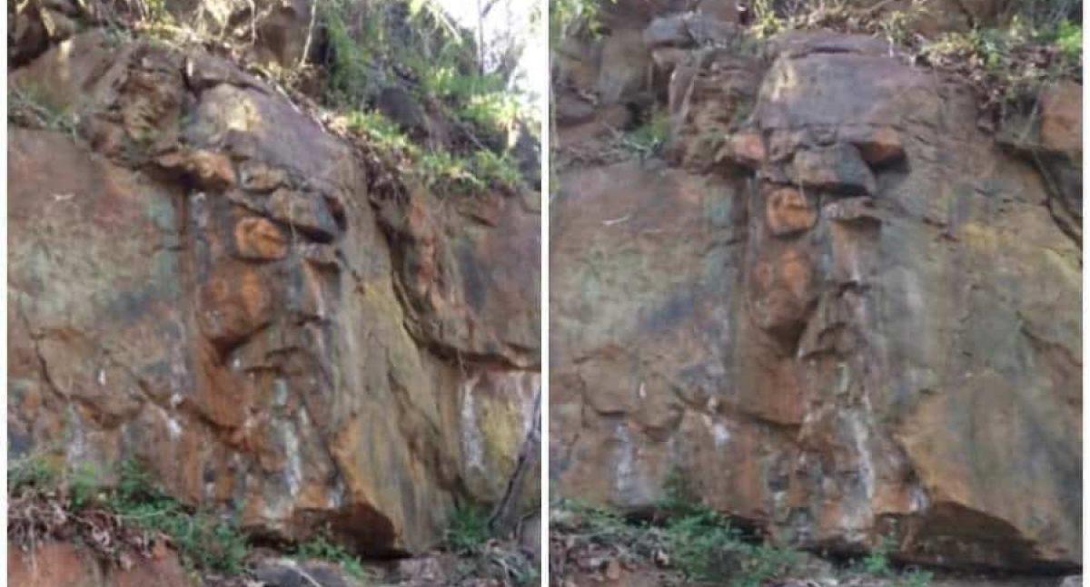 ¿Ves a Cristo en estas rocas o ves a Odín? video se vuelve viral en redes