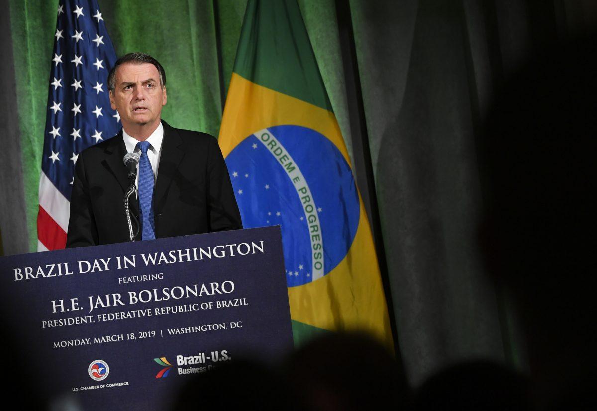 VIDEO: Brasil y EEUU deben liberar Venezuela, dice Bolsonaro