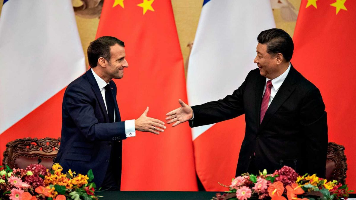 Presidentes de Francia y China hablan sobre la pandemia, África y el clima