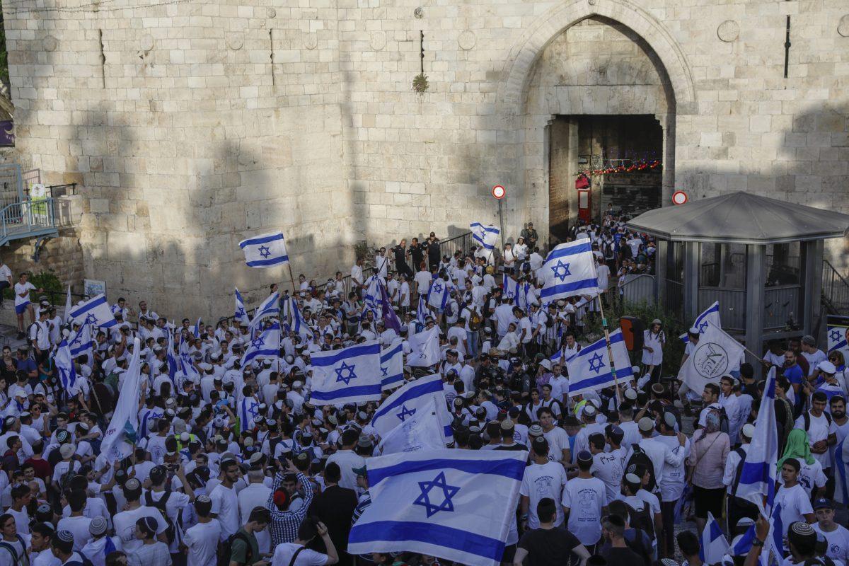 VIDEO   Israelíes marchan por Jerusalén Este para conmemorar su ocupación
