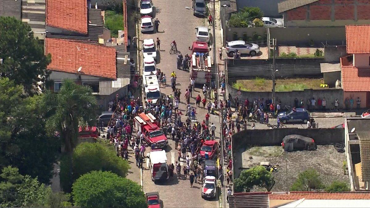 VIDEOS | Cámaras de seguridad grabaron la masacre en la escuela de Brasil