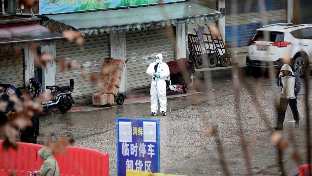 Así es por dentro el mercado donde se habría originado el coronavirus en China