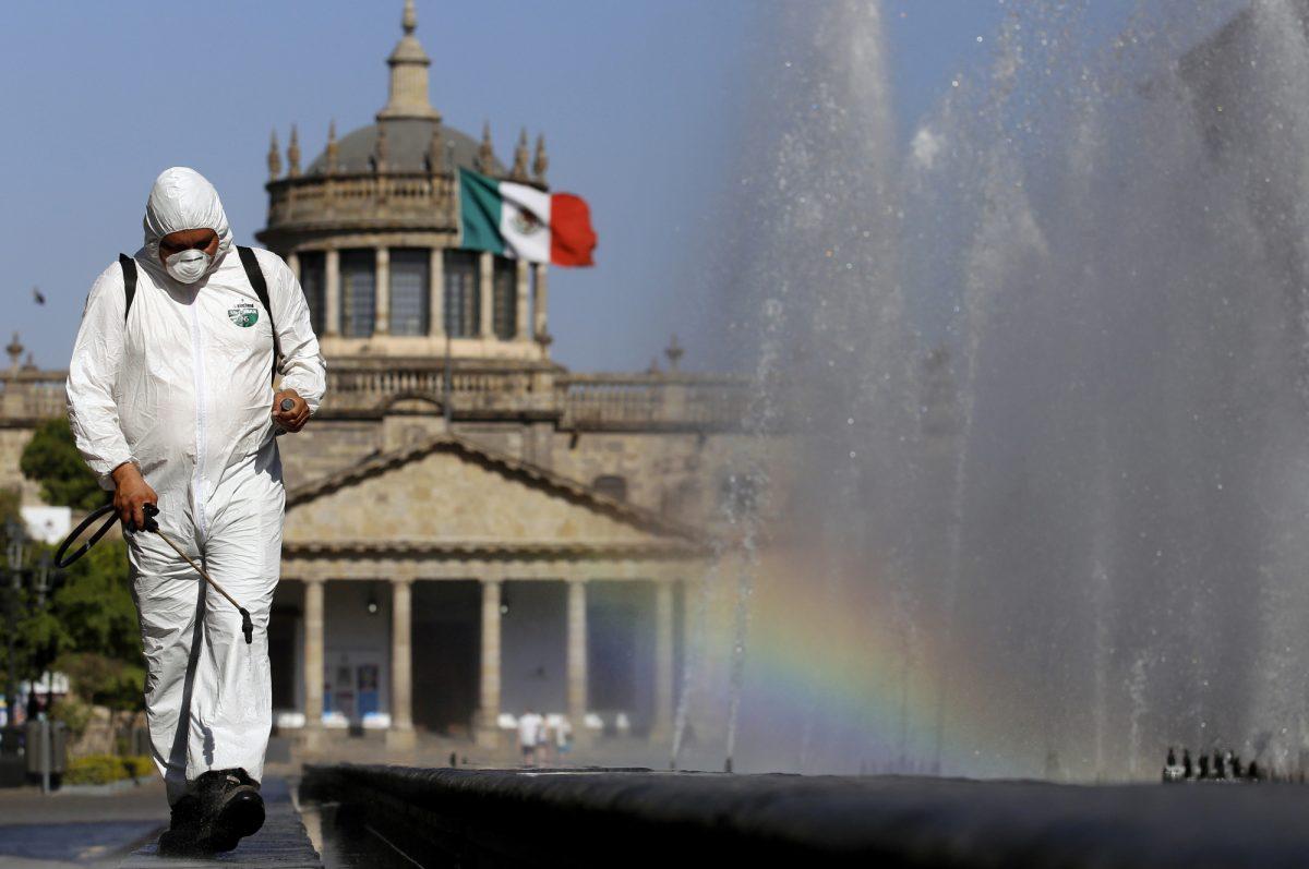 México registra casi 25.000 casos de coronavirus y suma 2.271 muertes