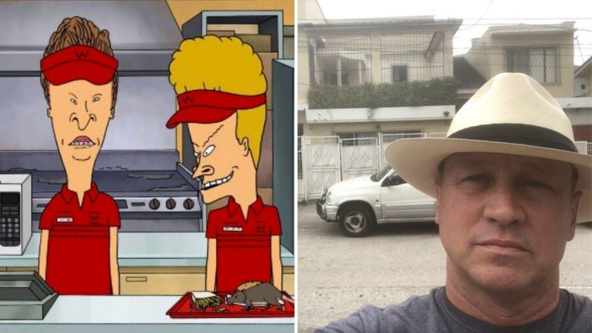 Mike Judge: creador de la serie estadounidense 'Beavis and Butt-Head' está en Guayaquil