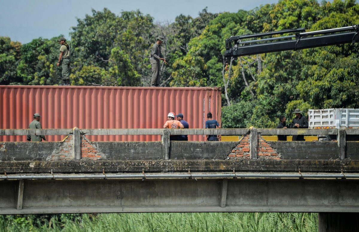 VIDEO: Colombia advierte de caída de puentes fronterizos con Venezuela