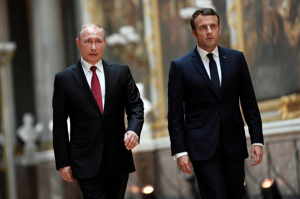Presidentes de Rusia y Francia sugieren una cumbre de líderes del Consejo de Seguridad de la ONU