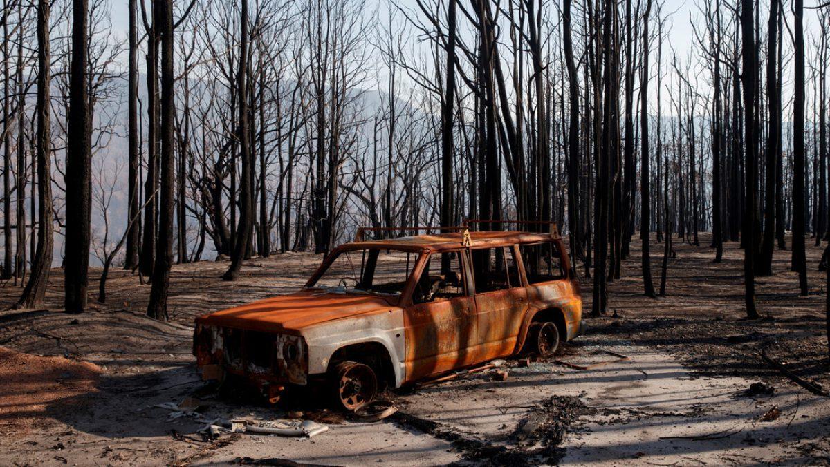 ¡Terrible!: Ex deportista quema su auto con su familia en el interior y luego se suicida