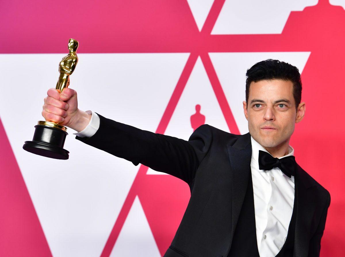 "VIDEO   Rami Malek gana el Óscar a mejor actor por ""Bohemian Rhapsody"""