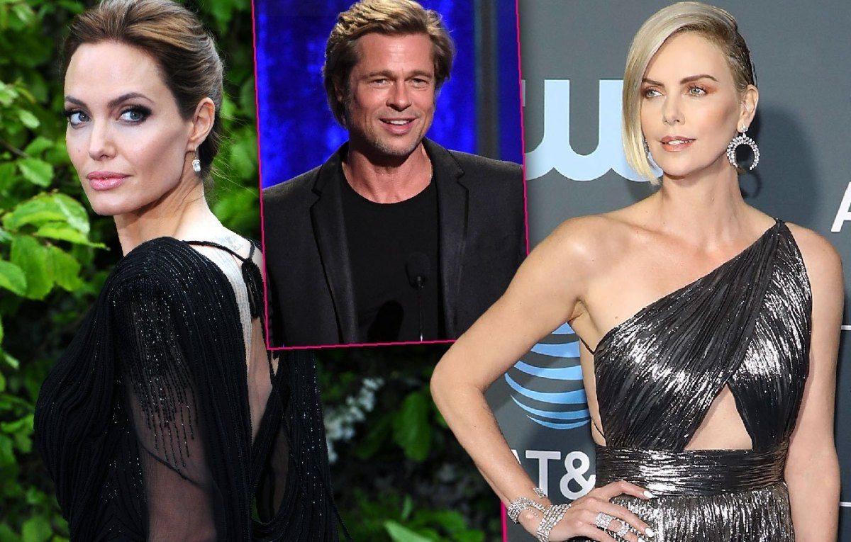 Destapan rivalidad entre Angelina Jolie y Charlize Theron tras supuesto romance con Brad Pitt