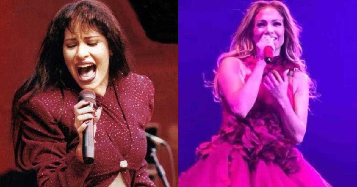VIDEO   Emotivo homenaje de Jennifer López a Selena Quintanilla en un concierto