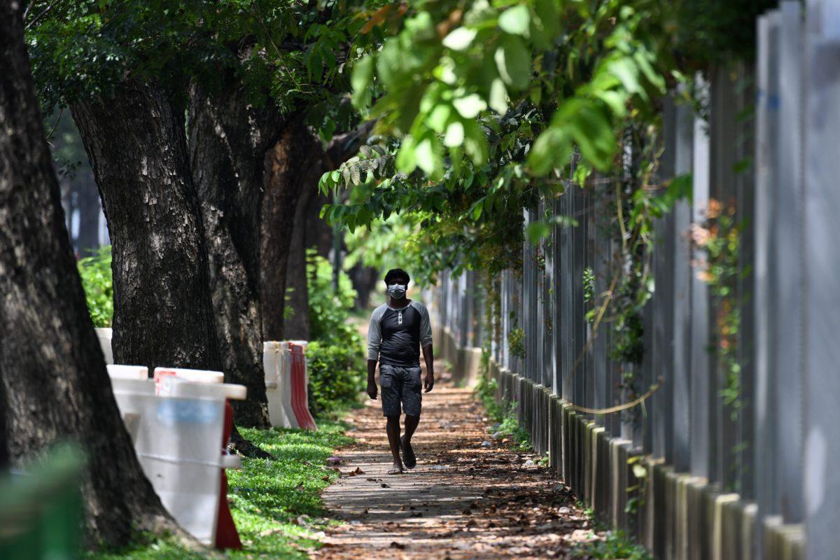 Singapur registra un aumento récord del número de infectados por coronavirus