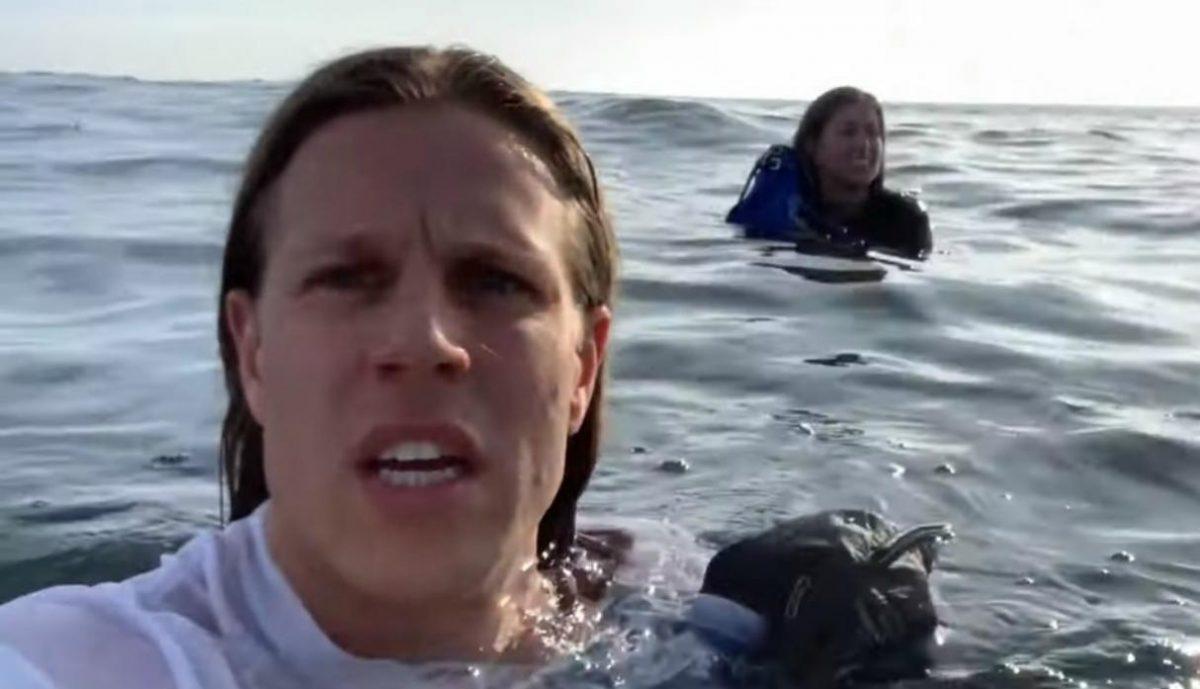 Su avión cayó al mar, sobreviven al accidente y graban todo su rescate en video