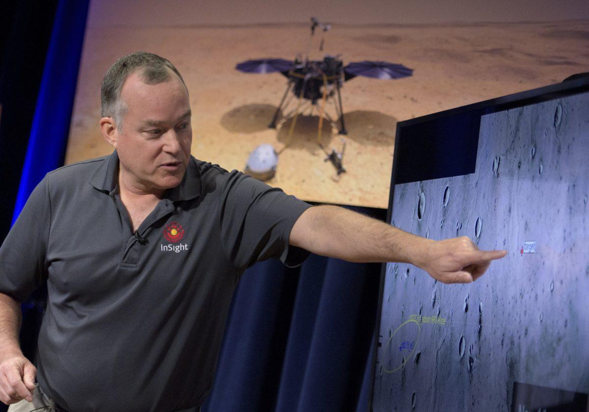 VIDEO: la sonda InSight de la NASA intenta riesgoso descenso en Marte