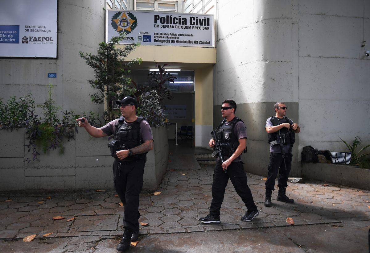 VIDEO: detienen en Rio de janeiro a dos policías implicados en el asesinato de una concejal