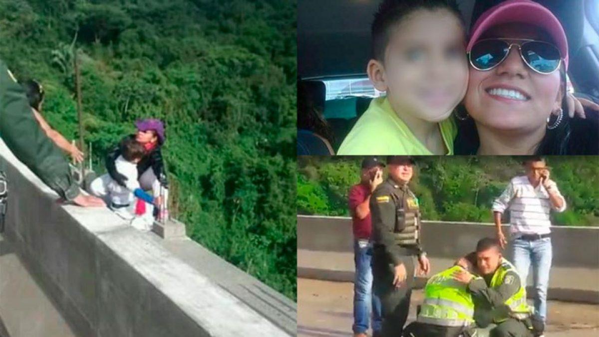 Ella era Jessy Paola, la mujer que estremeció no sólo a un país tras suicidio con su hijo