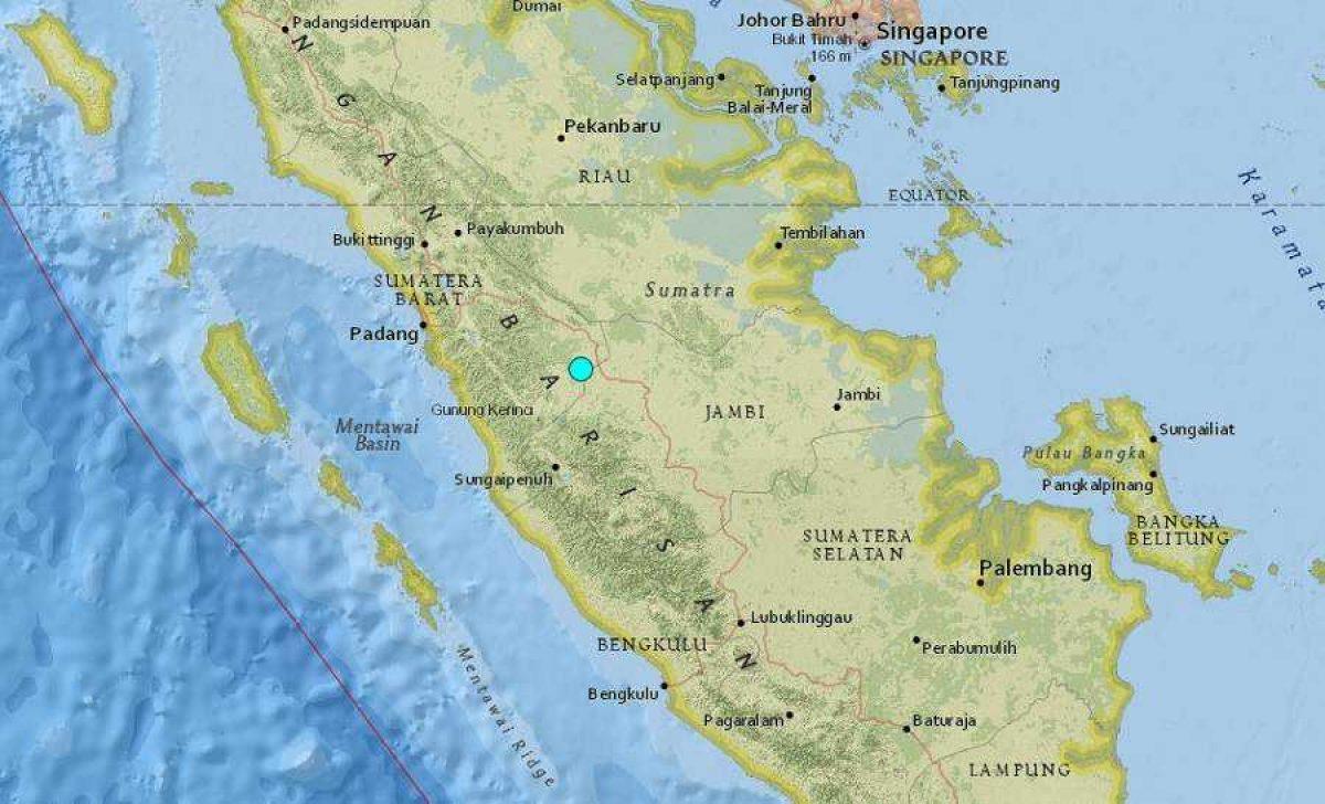 48 heridos y más de 300 casas dañadas por sismo en isla indonesia de Sumatra