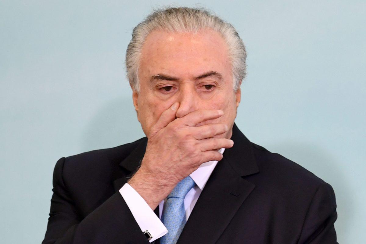 VIDEO | Tribunal de Brasil ordena a expresidente Temer vuelva a prisión
