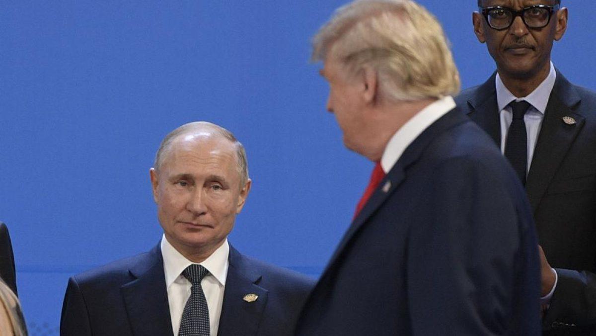 Breve y tenso encuentro entre Trump y Putin en la cumbre del G20
