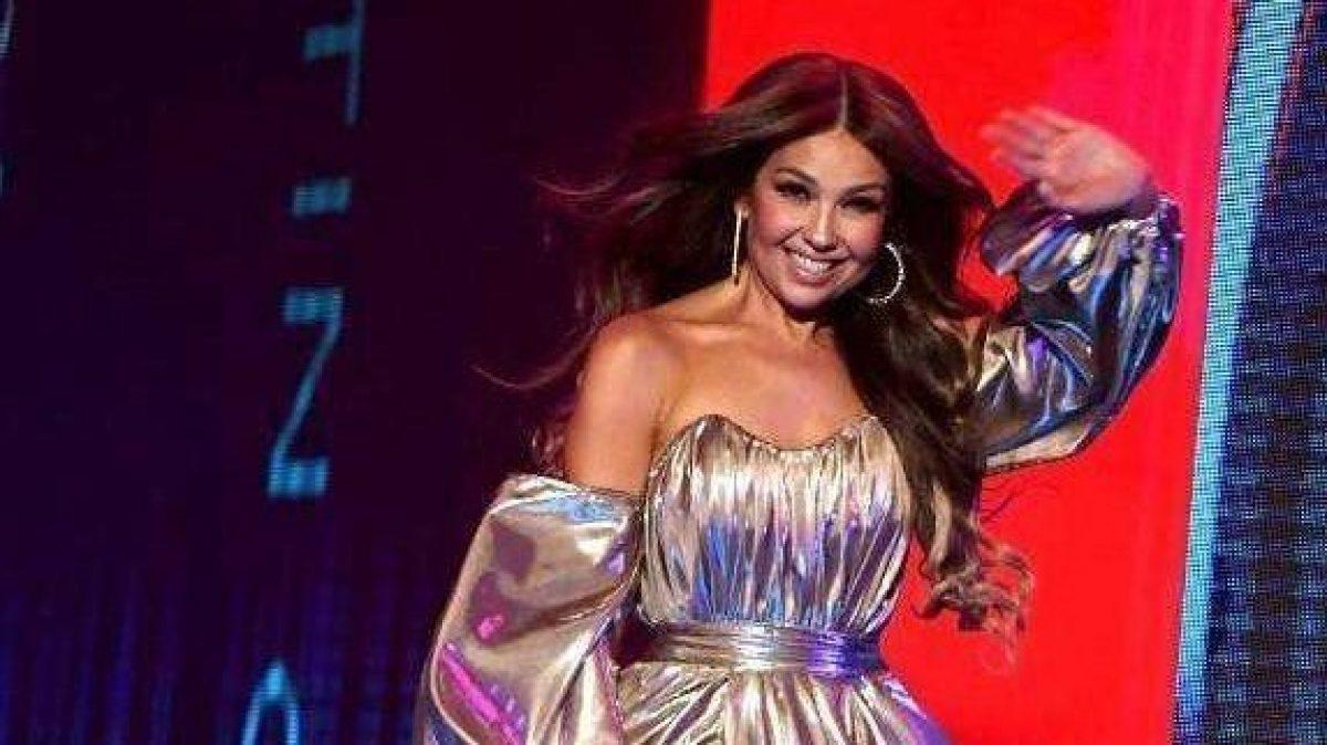"""Thalía recibe abucheos en los Grammy Latinos por """"culpa"""" de Luis Miguel"""