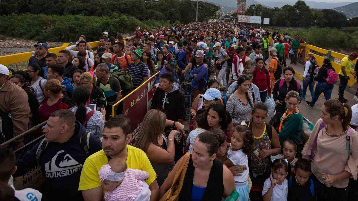 Más de un millón de venezolanos han ingresado a Colombia en 2018