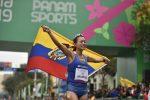 ¡Arriba Ecuador! Claudio Villanueva y Johana Ordóñez ganan medallas de oro en Juegos Panamericanos 2019