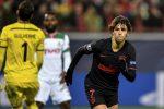 Atlético de Madrid venció 2x0 al Lokomotiv por Champions League