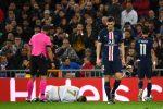 Eden Hazard se retiró lesionado del partido ante PSG