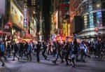VIDEO   Carro atropella a un policía a toda velocidad durante los disturbios en Nueva York