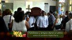 VIDEO | Así despidieron al cantante ecuatoriano Pepe Parra en el Cementerio General