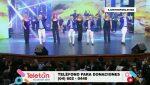 Presentación del grupo Raya Real en la Teletón Ecuador