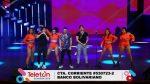 Presentación de Tres Dedos y Ren kai en la Teletón Ecuador