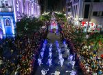 "Desfile de luces led ""Guayaquil es mi Destino en Navidad"""