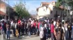 Protesta de universitarios en Cuenca
