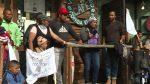 VIDEO: mujeres de caravana migrante anuncian huelga de hambre