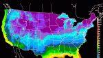 Pronostican la llegada de una ola de frío a mitad de semana en EEUU