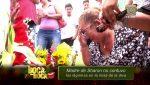 "VIDEO | ""Tal vez hasta hoy te lloré, mija"": dijo la madre de Sharon durante misa"