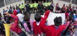 Supuesta legalización de taxis rurales provoca protesta en Tungurahua