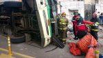Volcamiento en Conocoto dejó cuatro fallecidos