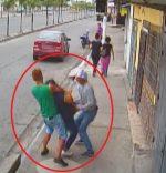 Violento asalto a una mujer en Guayaquil